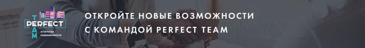 """Все вакансии компании """"Perfect Team, Агентство недвижимости """""""